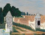 Painting of Southwold Prehistoric Earthworks