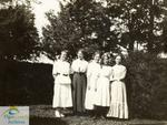 Group on Church Lawn