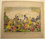 Col. Johnson's Mounted Men Charging a Party of British Artillerists. By Dr. Gabriel F. S. Miesse