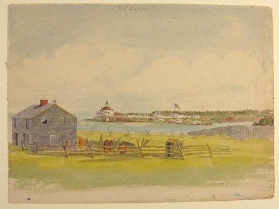 Fort Niagara. By Col. Alexander Cavalie Mercer