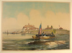 American Fort, Niagara River. By John Richard Coke Smyth