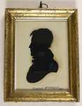 Silhouette of William Henry Harrison