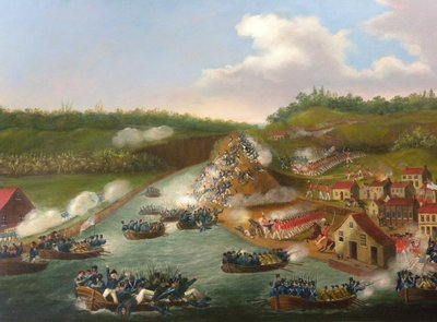 The Battle of Queenston Heights. By James Dennis