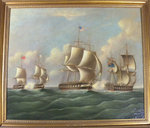 The Battle of Lake Erie VI. By Thomas Birch