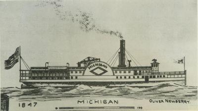 MICHIGAN (1847, Steamer)