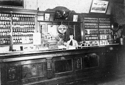 John A. Lau Saloon Interior