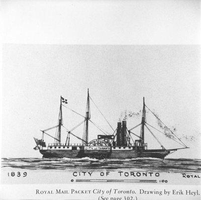 CITY OF TORONTO (1839)