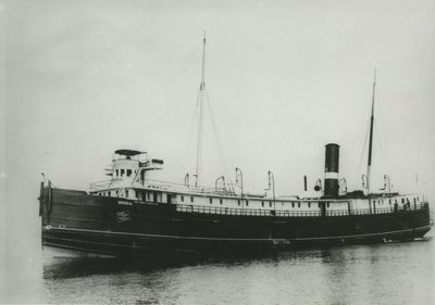 RUSSIA (1873, Package Freighter)