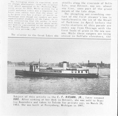 BIELMAN C F (1907)