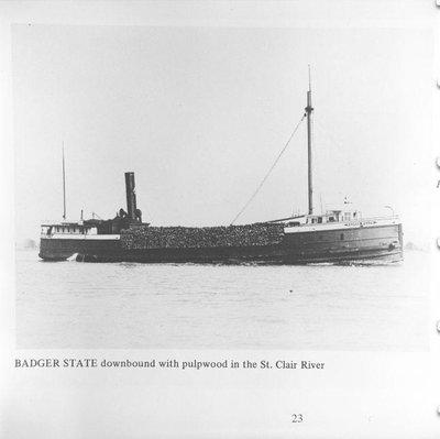 BADGER STATE (1862)