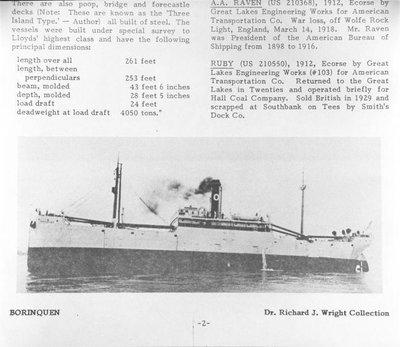BORINQUEN (1911)