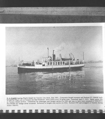 CLARK T J (1911)