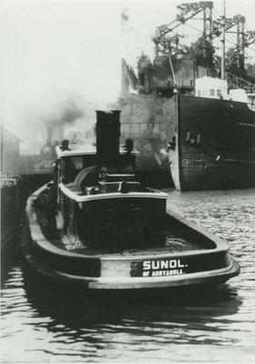 SUNOL (1892, Tug (Towboat))