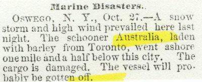 AUSTRALIA (1853, Schooner)