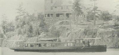INDIENNE (1888, Yacht)