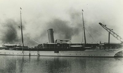ALVINA (1901, Yacht)