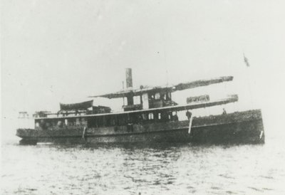 BARKER, GRACIE (1879, Excursion Vessel)
