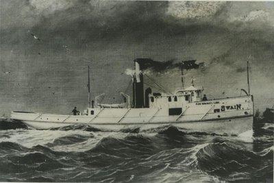 SWAIN, MARTIN (1881, Tug (Towboat))