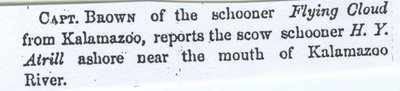 ATTRILL, H.Y. (pre1853, Schooner)