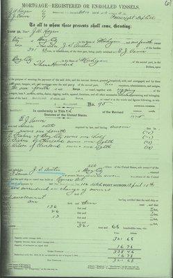 AUSTIN,  J. S. (1863, Barkentine)