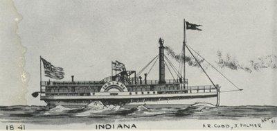 INDIANA (1841, Steamer)
