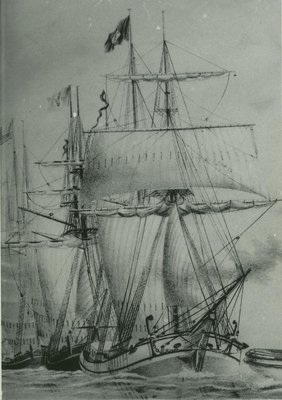 SUNNYSIDE (1862, Barkentine)