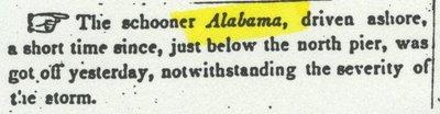 ALABAMA (1834, Schooner)