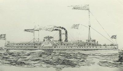 AMERICA (1854, Steamer)