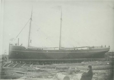 SMITH, ABRAM (1892, Schooner-barge)
