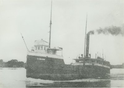 LINCOLN, ISAAC (1898, Steambarge)