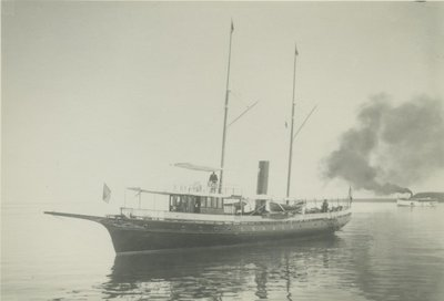 IDLER (1886, Yacht)