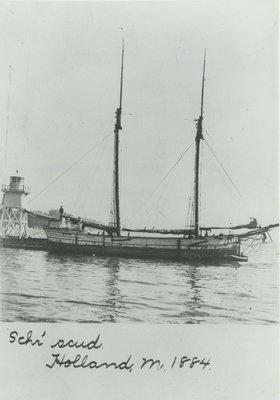 SCUD (1868, Scow Schooner)