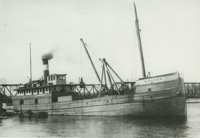 SICKEN, M (1884, Steambarge)