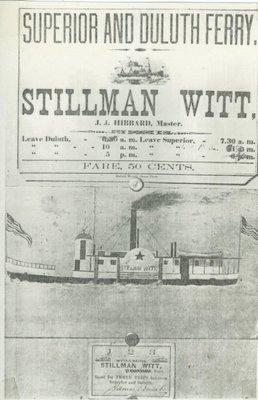 WITT, STILLMAN (1857, Tug (Towboat))