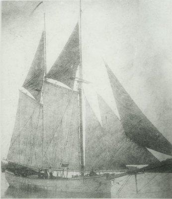 SEA FOAM (1878, Scow Schooner)