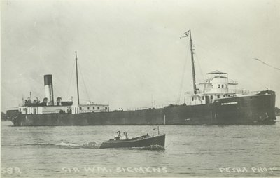 SIEMENS, SIR WILLIAM (1896, Bulk Freighter)