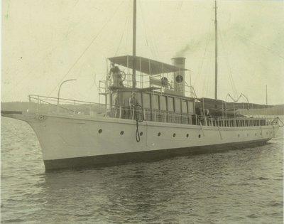 SIESTA (1882, Yacht)