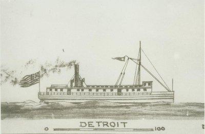 DETROIT (1845, Propeller)