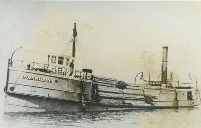 GLEN ALLEN (1912, Steambarge)