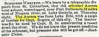 AURORA (pre1854, Schooner)