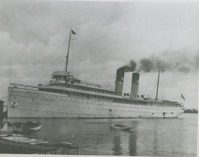 NORTH LAND (1895, Passenger Steamer)