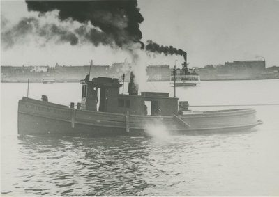 DAVE AND MOSE (1873, Tug (Towboat))
