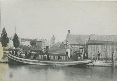 DAVIS, R. (1876, Fish Tug)