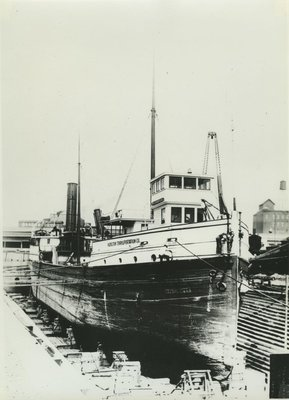SAWYER, W.H. (1890, Steambarge)