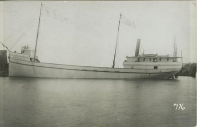 SHORES, E. A., JR. (1892, Steambarge)