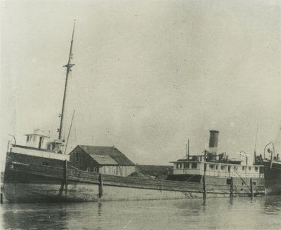 WHITE & FRIANT (1881, Steambarge)