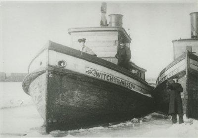 WITCH OF THE WEST (1856, Tug (Towboat))