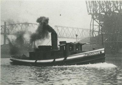 MANNING, J.P. (1906, Tug (Towboat))