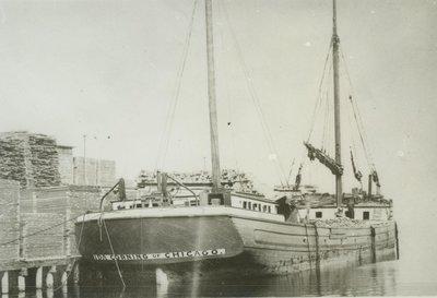 CORNING,  IDA (1881, Barge)