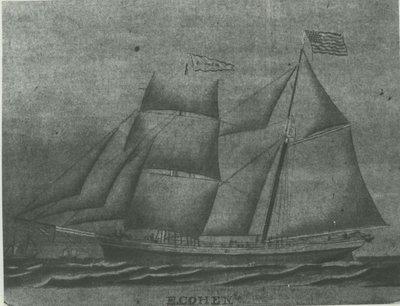 COHEN, E. (1867, Brigantine)